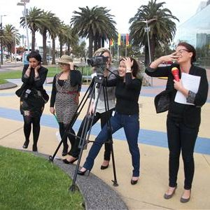 Creative team building activity Perth