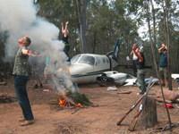 Aircraft Survivor Team Building Experience