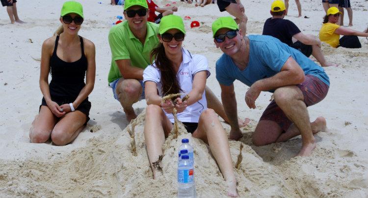 Beach Olympics Team Building Activity