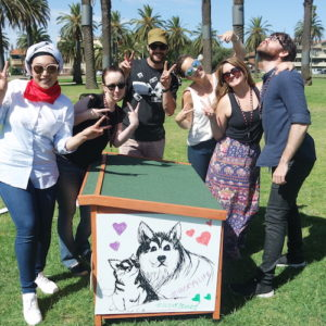 Give a dog a home charity Team building Adelaide