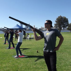 Laser Clay Perth - outdoor Team Building Perth