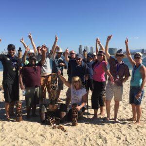 Survivor Outdoor team building program