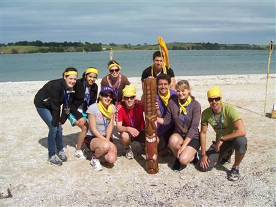 Survivor-team-building fun team building activities