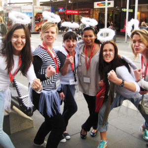 Charity - Buddy Bags team Building Activity Melbourne group activities for adults in Melbourne