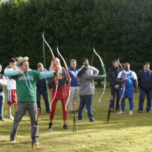 Archery - events on a budget team building activity