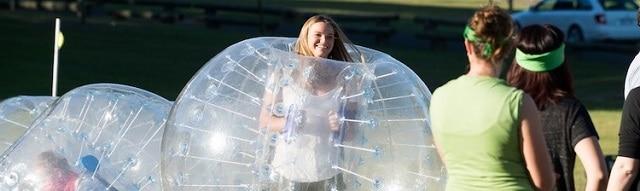 bubble soccer activities