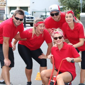 Top Gear Challenge - team building activities Hobart