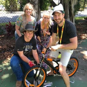 Charity Bike Building Activity Canberra
