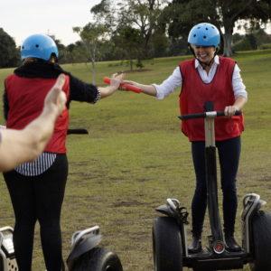 Segway Challenge - Seglympics Experience team building activities Canberra