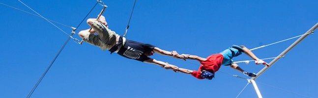 trapeze team building event brisbane